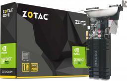 Karta graficzna Zotac GeForce GT 710 1GB DDR3 (64 bit) HDMI, DVI, VGA (ZT-71304-20L)