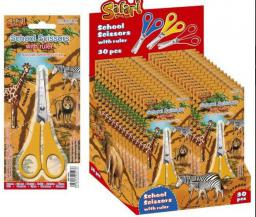 Starpak Nożyczki 13cm Safari