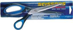 Starpak Nożyczki 25,4cm gumowaną rączką blister - 155248