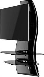 Meliconi Podstawa pod telewizor Ghost Design 2000 Rotation czarna (488086)