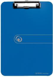 Herlitz Deska z przyciskiem A4 niebieska - 0011226396