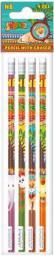Starpak Ołówek z gumką Safari op4 (259296)