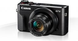 Aparat cyfrowy Canon PowerShot G7X Mark II, Czarny (1066C002AA)
