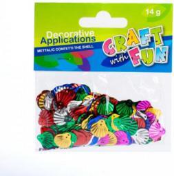 Euro Trade Craft with Fun Konfetti Muszla - 291848