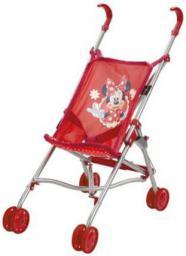 Brimarex Wózek składany mały Minnie Mouse srebrna rama, w worku - 1572745