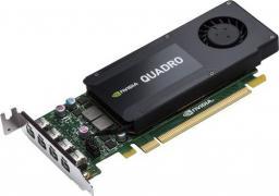 Karta graficzna HP nVIDIA K1200 Quadro 4GB GDDR5 (128 bit) 4x Mini DisplayPort (T7T59AT)