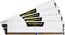 Pamięć Corsair Vengeance LPX, DDR4, 32 GB,3200MHz, CL16 (CMK32GX4M4B3200C16W)