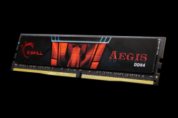 Pamięć G.Skill Aegis, DDR4, 16 GB, 2400MHz, CL15 (F4-2400C15S-16GIS)