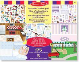 Melissa & Doug Naklejka wielokrotnego użytku Play House - 14197