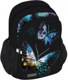 Starpak Plecak szkolny Butterfly STK-40 czarny (352375)