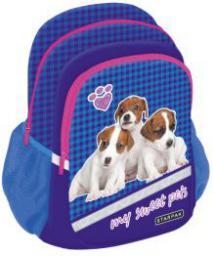 Starpak Plecak Cute Animals STK-40 granatowy (352383)
