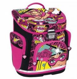Starpak Tornister hardbag Barbie Power STK47-45 czarno-różowy (329787)