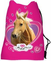 St. Majewski Worek na obuwie My Little Friend Koń różowy