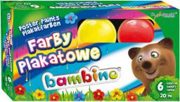 Bambino Farby plakatowe - (5903235001598)
