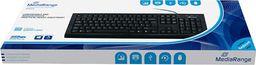 Klawiatura MediaRange Tastatur Przewodowa Czarna UK (MROS101-UK)