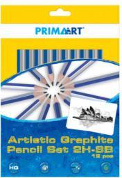 Starpak Ołówki PRIMA ART zestaw 8B-2H 12szt (316751)
