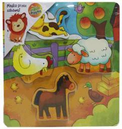 Brimarex Układanka drewniana Farma - 1573315