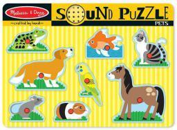 Melissa & Doug Puzzle Pets dźwiękowe  - 10730