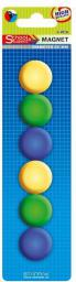 Flipchart Starpak Magnesy kolorowe 29mm (262702)