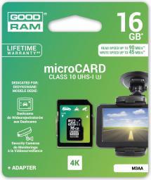 Karta MicroSD GoodRam 16GB (M3AA-0160R11-DD)