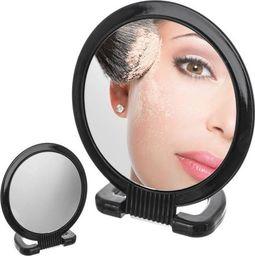 Lustro Orion Lustro, lusterko kosmetyczne, do makijażu, DUO, stojak, 15 cm