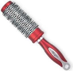 Top Choice Szczotka do włosów Exclusive rozm M okrągła silver/burgund (62025-01)