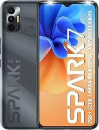 Smartfon Tecno Spark 7 3/64GB Dual SIM Czarny