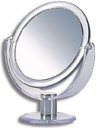 Lusterko kosmetyczne Donegal dwustronne koło 17cm (9276)