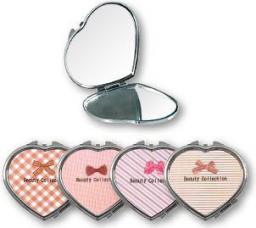 Lusterko kosmetyczne Top Choice Beauty Collection kieszonkowe serce (85628)