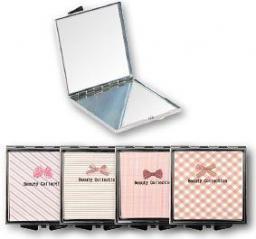 Lusterko kosmetyczne Top Choice Beauty Collection kieszonkowe kwadrat (85604)