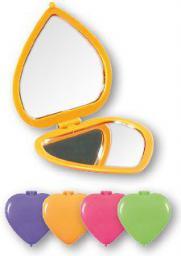 Lusterko kosmetyczne Top Choice Top Choice Colours kompaktowe-serce (85550)