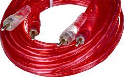 Kabel Mac Audio RCA (Cinch) x2 - RCA (Cinch) x2 5m czerwony (16500501)