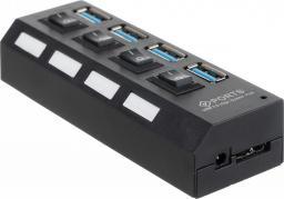 HUB USB Iso Trade 4x USB-A 3.0 (5902802919403)