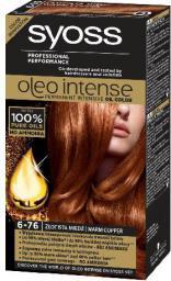 Syoss Farba do włosów Oleo 6-76 złocista miedź