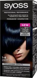 Syoss Farba do włosów Granatowa Czerń nr 1-4