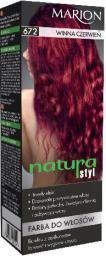 Marion Farba do włosów Natura Styl nr 672 winna czerwień - 78672