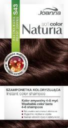 Joanna Naturia Soft Color Szampon koloryzujący S43 Palona Kawa