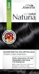Joanna Naturia Soft Color Szampon koloryzujący S44 Czarny Bez
