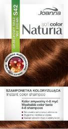 Joanna Naturia Soft Color Szampon koloryzujący S42 Orzechowy Brąz