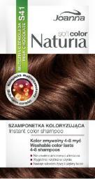 Joanna Naturia Soft Color Szampon koloryzujący S41 Mleczna Czekolada  1szt - 525741