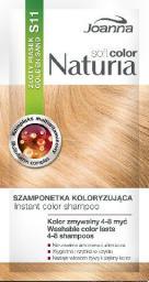 Joanna Naturia Soft Color Szampon koloryzujący S11 Złoty Piasek