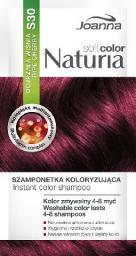 Joanna Naturia Soft Color Szampon koloryzujący S30 Dojrzała Wiśnia