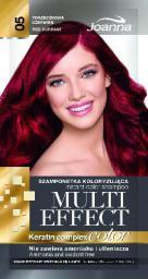 Joanna Multi Effect Color Keratin Complex Szamponetka 05 Porzeczkowa Czerwień  35 g