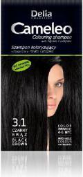 Delia Cosmetics Cameleo Szampon koloryzujący 3.1 czarny brąz