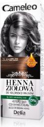 Delia Cosmetics Cameleo Henna Ziołowa  nr 3.0 ciemny brąz  75 g