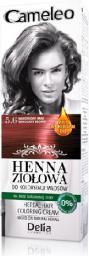 Delia Cosmetics Cameleo Henna Ziołowa  nr 5.6 mahoniowy brąz  75 g