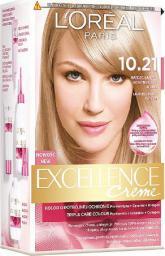 L'Oreal Paris Excellence Creme farba do włosów 10.21 Bardzo Jasny Perłowy Blond (3600010022633)