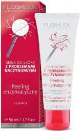 FLOSLEK Pielęgnacja skóry naczynkowej Peeling enzymatyczny 50ml