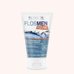 FLOSLEK Men Young Żel do mycia twarzy 150 ml