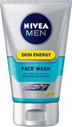Nivea MEN Żel do mycia twarzy Skin Energy  100ml